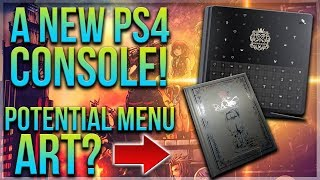 NEW Kingdom Hearts 3 PS4 Console Revealed & Potential Menu Art?