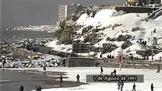 Nevada en Mar del Plata - 1 de Agosto de 1991