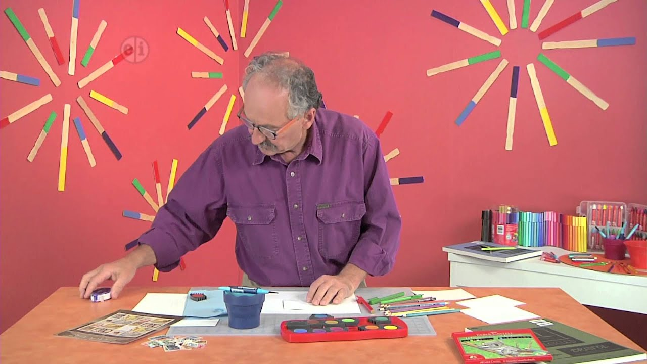 Hands on Crafts for Kids - Make Your Own Invitations - YouTube