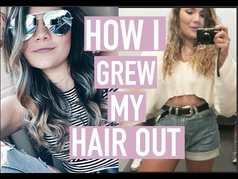 HOW I GREW MY HAIR OUT & TOPSHOP AND URBAN HAUL
