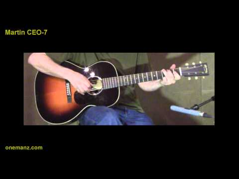 Martin CEO 7 video review - One Man's Guitar HD 1080p
