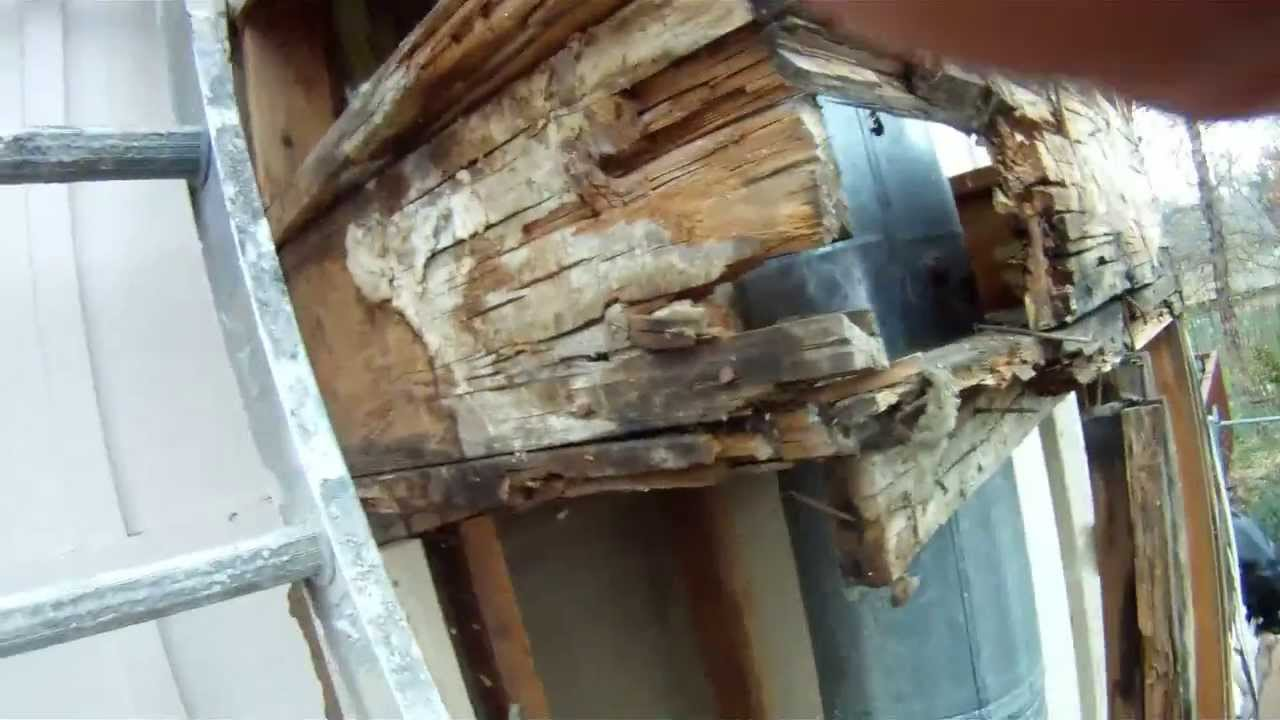Olathe Chimney Wood Rot Repair Pov Hd Youtube