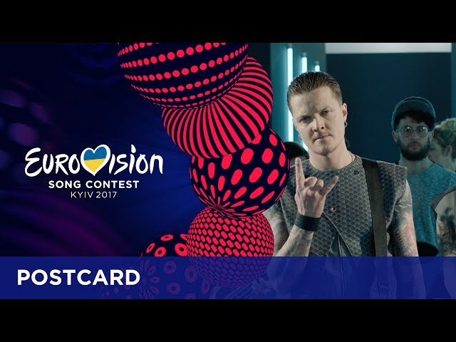 Postcard of O.Torvald from Ukraine - Eurovision Song Contest 2017