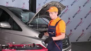 Mercedes Vito Mixto W639 huolto: ohjevideo