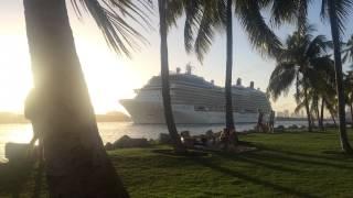 Майами Бич круизный лайнер Celebrity Eclipse