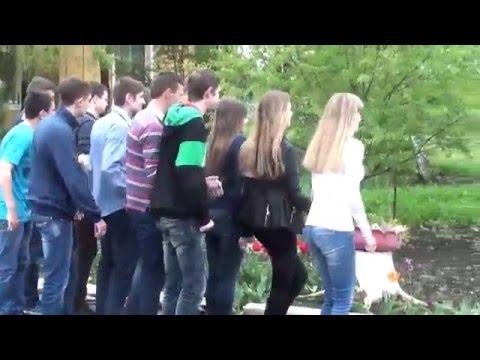 как снимался эпизод из клипа Ученики школы №128 для учителей