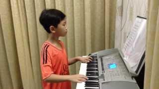 """Độc tấu Organ """"The final countdown"""" - Vinh Khang lop 2 truong Nguyen Ba Ngoc Kien Giang"""