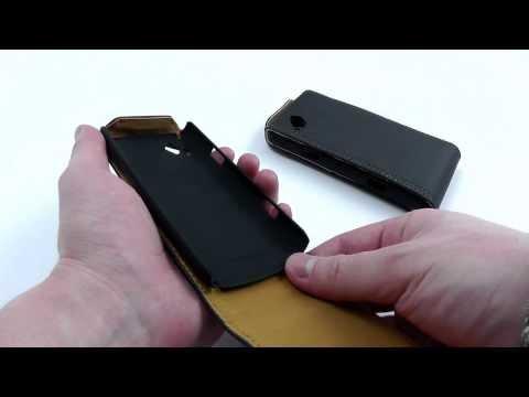 ОБЗОР: Чехол-Флип для Samsung Wave 2 GT-S8530