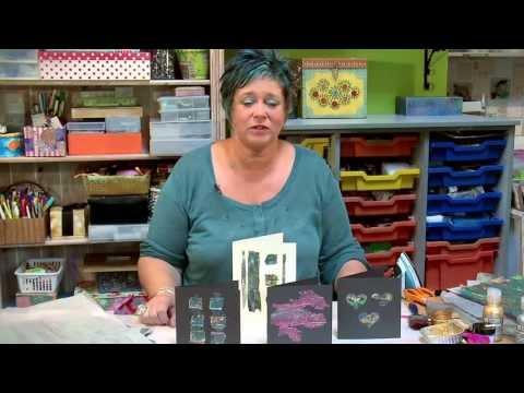 Creative Textile Art - Bondaweb With Kim Thittichai - How To Make Cards