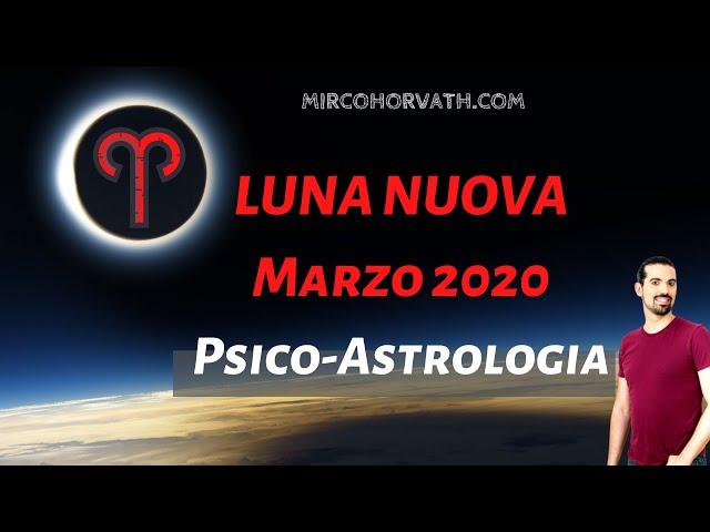 Luna Nuova Fine Marzo 2020 - Equinozio di Primavera