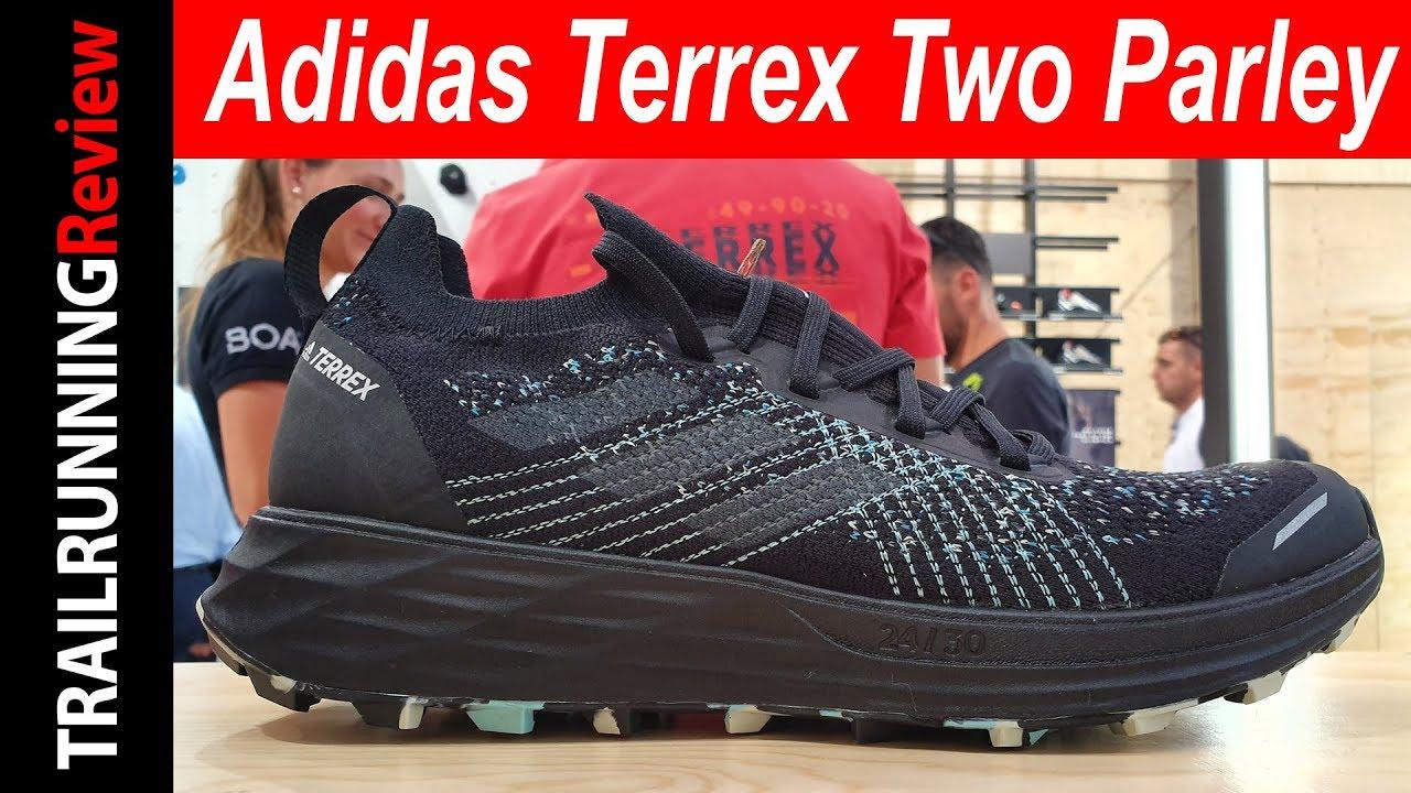 Asombro Gracias sostén  Adidas Terrex Two Parley - Preview - YouTube