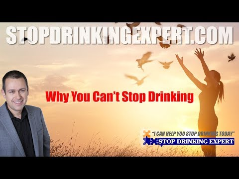 The uncomfortable truth about why you can't stop drinking