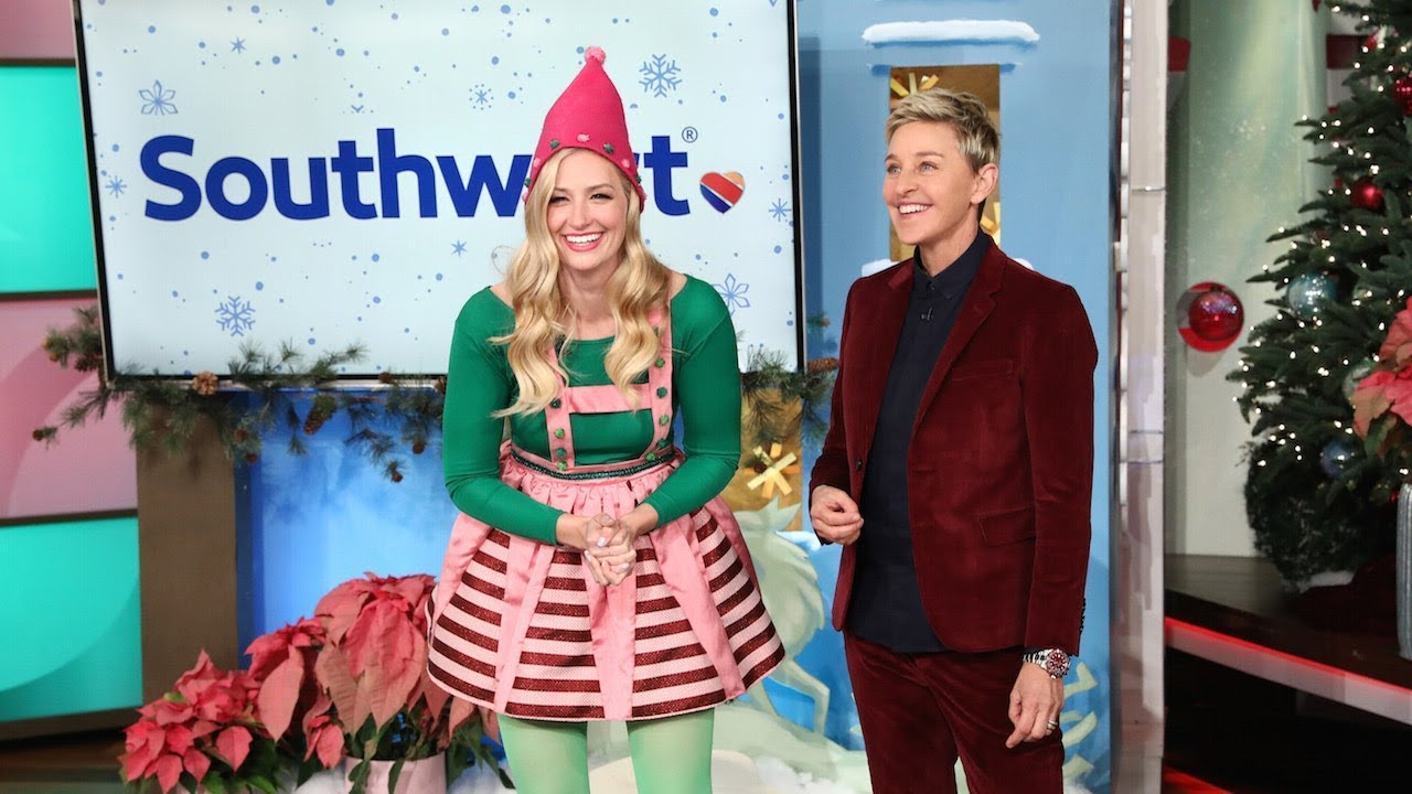 It\u0027s Day 14 of 12 Days! Ellen and Beth Behrs Present the Perfect Vacation  Package