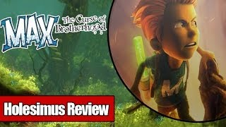 обзор Max:The Curse of Brotherhood Holesimus Review