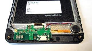 Небольшой ремонт мобилки Blackview E7