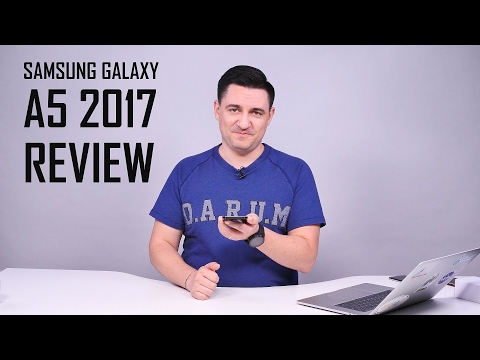 UNBOXING & REVIEW - Samsung Galaxy A5 2017 - WOW! (www.buhnici.ro)