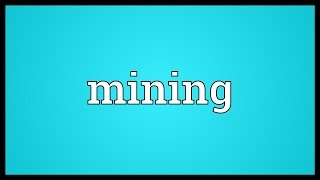 Mining Meaning