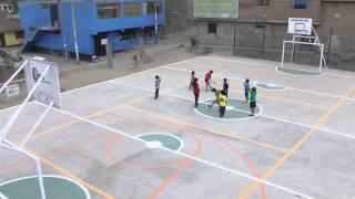 @MuniLima entrega Losa Multideportiva en la zona J de Huaycán- Ate