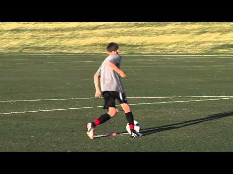 Basic Youth Soccer Drills - Dribbling (6)