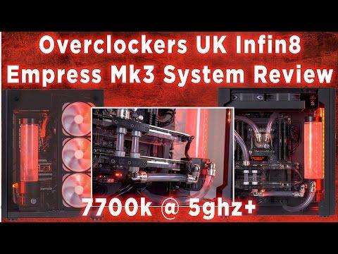 OCUK Infin8 Empress Mk3 Custom Watercooled System review (5.1ghz)