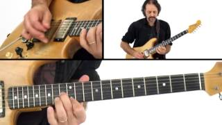 Jam Night - #26 Lead Performance - Blues Guitar Lesson - Andy Aledort