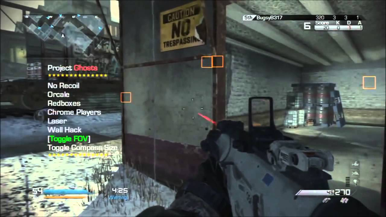 call of duty ghost mod menu download xbox 360