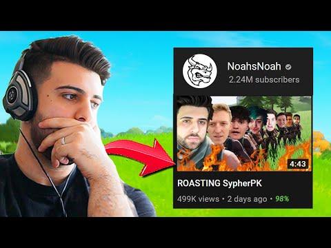 So A Big YouTuber ROASTED Me... (Responding To NoahsNoah) - Fortnite Battle Royale