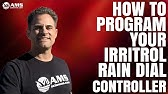 How to Program Your Rain Dial Controller - YouTube