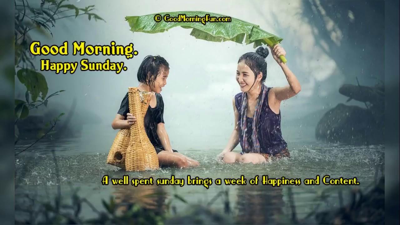 Good Morning Sunday Inspirational Quotes - YouTube