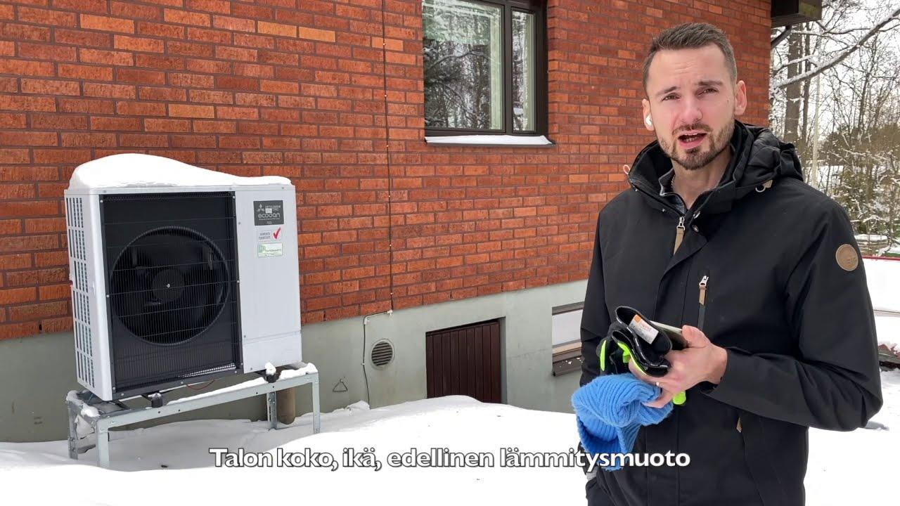 Mitä ilmavesilämpöpumppu maksaa?