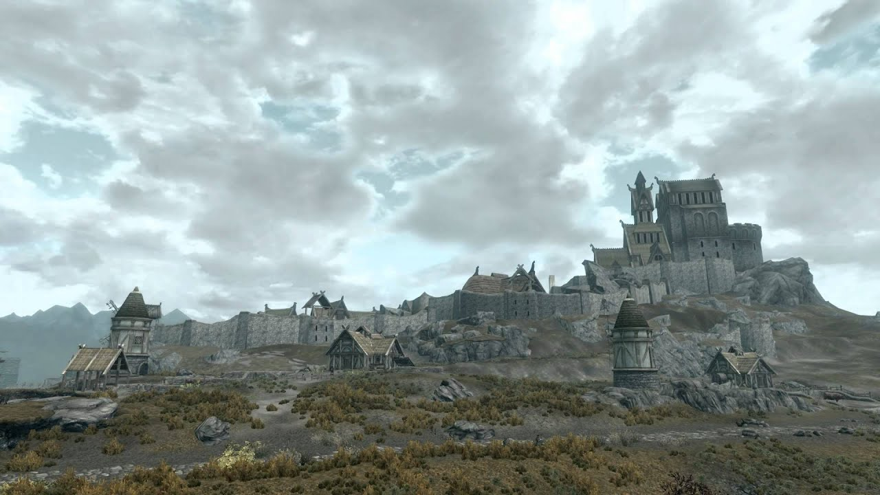 Image result for whiterun in the distance