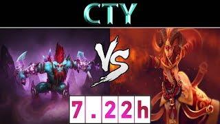 CTY [Huskar] vs [Lina] ► CN Ranked ► Dota 2 7.22h