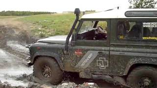 Land Rover Defender Off Road Montage