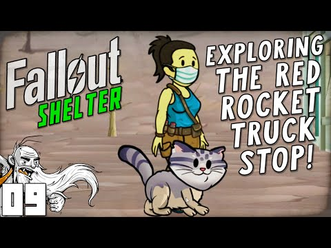 """EXPLORING THE RED ROCKET TRUCK STOP!!!"" Fallout Shelter (iOS/Android/PC)"