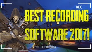 Best Game Recording PC Software 2017 For 1080p 60fps Recording (Comparing Recording Software