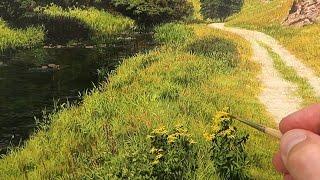#23 Landscape Oil Painting | Time Lapse