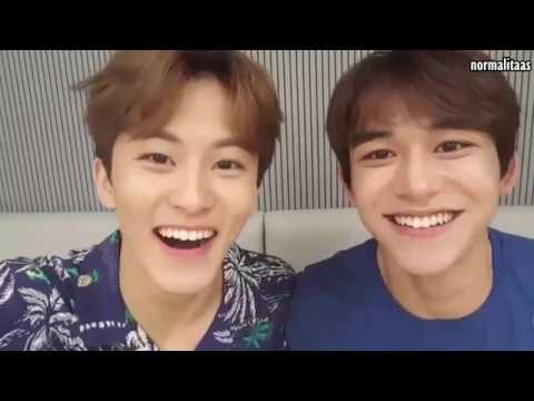 NCT Mark x Lucas Full of Laughter Moment on Vlive
