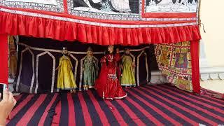 Gambar cover Traditional Rajasthani kathputli dance | Nachne wali gudiya | Jaipur | Pink city