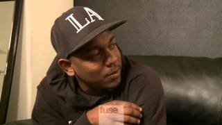"Kendrick Lamar Explains ""good kid, m.A.A.d city"" Album Cover"