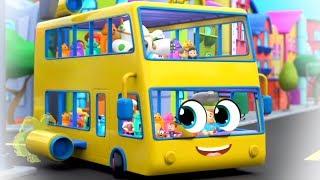 Wheels On The Bus | Nursery Rhymes & Songs for Kids | Kindergarten Videos - Super Supremes
