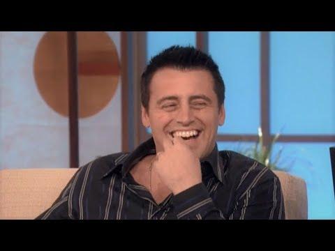 'What's My Next Line' with Matt LeBlanc on The Ellen Show (10/7/2005)
