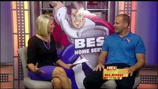 Best Home Services on Fox 4 Morning Blend 11/6/14