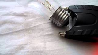 Мощный электрошокер(Самодельный мощный шокер в корпусе от китайца ОСА-916. Трещит громче китайских шокеров за счёт большой ёмкос..., 2013-04-16T11:18:51.000Z)