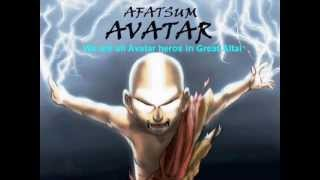 Aang Altaic a Shamanic Sky-Wolf Avatar