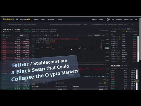 Why Tether USDT, Stable Scam Coins Could COLLAPSE the Crypto Markets – Black Swan 2021
