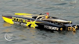 Pro Boat Rockstar RTR 48-inch Gas Powered Catamaran طراد روك ستار جازولين