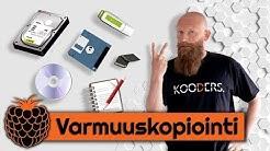 #MitäVattua podcast - Varmuuskopiointi