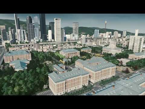 Cities Skylines, Campus Uniwersytecki |