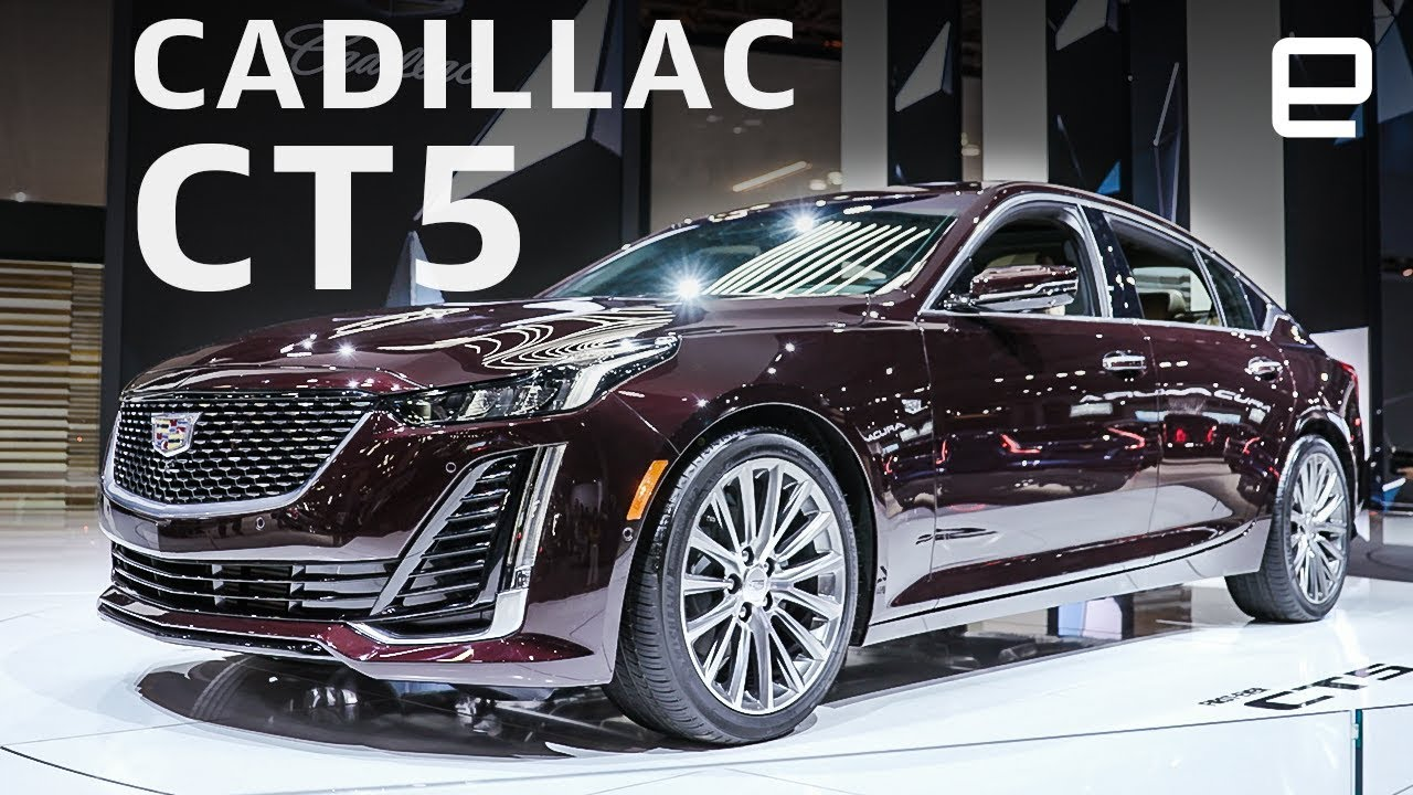 Cadillac Ct5 At The New York Auto Show Super Cruise In A Smaller Package