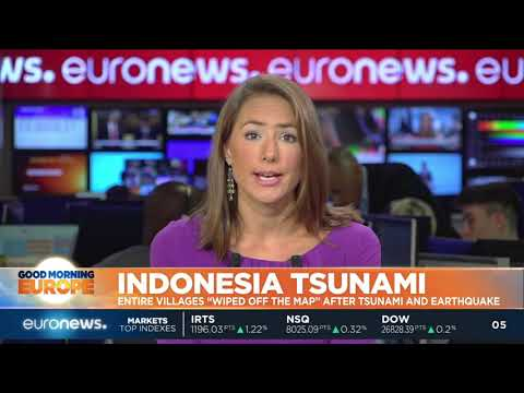 """#GME   Entire Villages """"wiped Off The Map"""" After Indonesia Tsunami And Quake"""